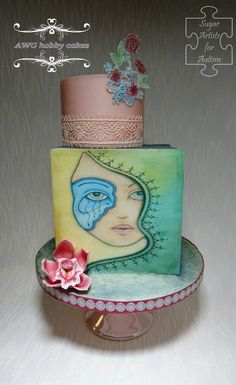 Sugar Artists for Autism - AWG hobby cakes