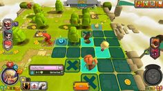 Krosmaster Arena is a Free-to-Play Turn Based Strategy [TBS] MMO Game featuring PVP [Player vs Player] oriented board Arena and Turn-Based gameplay Map Games, Pixel Art Games, Fantasy App, Mobile App Games, Cool Pixel Art, Game Programming, Game 2d, Pix Art, Game Ui Design