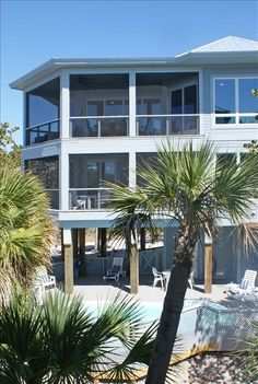 VRBO.com #273270 - New Luxury Home Pvt  Pool 300' to Beach Sleeps 12 in Beds. Book direct with owner, not VRBO, to avoid VRBO commission. sales@bluefinbeachhouse.com