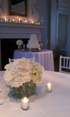 A Silver and White Reception