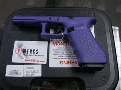 Glock 17 Gen 4 9mm X-Werks Lolipop Purple Cerakote Glock Pistols > 17 for sale, gun classifieds or gun auction from Shooters Vault. Buy or bid on this Glock 17 Gen 4 9mm X-Werks Lolipop Purple Cerakote in the category Glock Pistols > 17 on GunsAmerica.