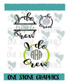 I do crew,I do crew svg,I do crew monogram svg,monogram,monogram frame,frame svg,monogram svg,wedding,bridal,bridal shower svg,crew svg,i do by OneStoneGraphics on Etsy