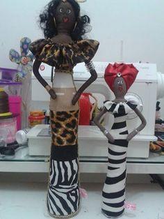 Bonecas decorativas 50cm de tecido