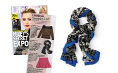 Swooning over the The Union Square Scarf – Midnight Bloom by Stella & Dot featured in Life