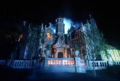 """A #NotSoScary Fact: Actor Paul Frees voices the """"ghost host"""" at the Haunted Mansion"""