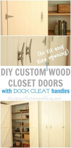 What I Learned About My Husband While Making Diy Wood Closet Doors