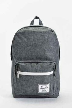 Herschel Supply Co. Pop Quiz Charcoal Cross-Stitch Backpack - Urban Outfitters