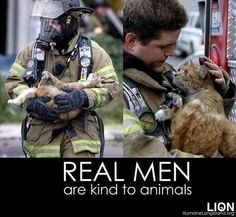 Real men are kind to animals. Save a life, don't kill it. --- @vitali_giuseppe pic.twitter.com/mOBPQWy8Bm