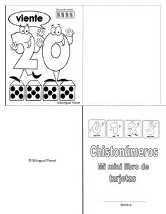 From Chistonúmeros/ Funny Numbers   0-20   activity packet. English or Spanish. 135 page packet. http://www.bilingualplanet.com/