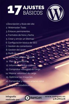 Ajustes básicos de WordPress