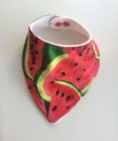 Funky Fruit, Dribble Bibs, Bandana Bib, Baby Bibs, Watermelon, Bamboo, Coin Purse, My Etsy Shop, Vibrant