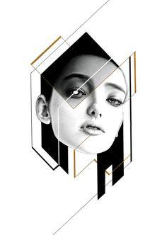"injrhsu: ""Her 03 ""鉛筆、自動鉛筆、代針筆、中性筆、金色墨水 19.7 x 27.4 cm(16K)... - #Art #LoveArt https://wp.me/p6qjkV-3Dc"