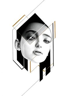 "injrhsu: ""Her 03 ""鉛筆、自動鉛筆、代針筆、中性筆、金色墨水 19.7 x 27.4 cm(16K)... - https://wp.me/p6qjkV-3Dc #Art"