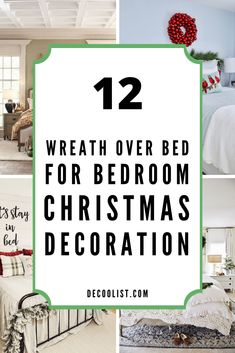 Enjoy your holiday with these perfect wreath arrangements to inspire you below. To make a wreath, we don't have to keep traditional by making a simple circle wreath; you can try to make it into a different shape that is unique. #wreathoverbed #bedroomdecor #wreathideas #bedroomideas #bedroomdesign #interior #interiordecor #bedroomstyle #christmasdecor #christmasideas #decoration One Bedroom, Bedroom Decor, Olive Wreath, People Sleeping, Bedroom Styles, Interior Decorating, Christmas Decorations, Inspire, Wreaths