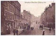 Springburn Road from Balgray Hill, 1916.