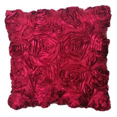 Lola Pillow - Cranberry » Designer8