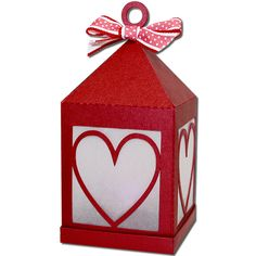 JMRush Designs: Heart Hanging Tea Light Lantern