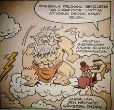 Zeusun Gazabı Karikatürü Özer Aydoğan | Karikatürname