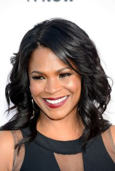 Nia Long Medium Wavy Cut - Nia Long wore her hair in edgy-glam waves during the Critics' Choice Awards. Valentine's Day Hairstyles, Wedding Hairstyles For Medium Hair, Easy Updo Hairstyles, Short Wedding Hair, Haircuts For Long Hair, Trendy Hairstyles, Straight Hairstyles, Black Hairstyles, Updos
