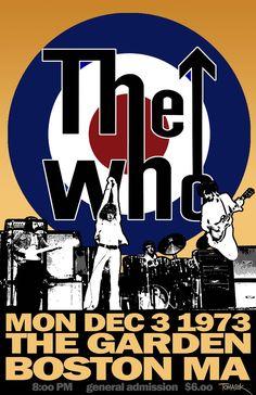 The Who.....boston garden 1973