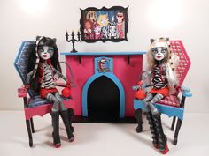 Monster High Furniture - 1:6 Scale Wood Fireplace, UNFINISHED, UNASSEMBLED | eBay