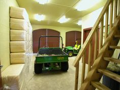Young Riding Stables | GH2 Gralla Equine Architects...what is a horse barn without a gator...