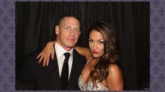 Nikki Bella and John Cena WM 30 Best of the WrestleMania Photo Booths
