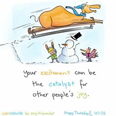Be the #excitement spark!