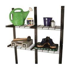 2x4 Basics Barn Roof Enclosure Kit (BRACKETS ONLY) & Reviews | Wayfair Plastic Storage Sheds, Garbage Storage, Storage Shed Kits, Tool Storage, Suncast Sheds, 2x4 Basics, Double Front Doors, Tool Sheds, Concrete Blocks