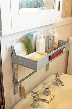 bathroom storage for boys' bathroom