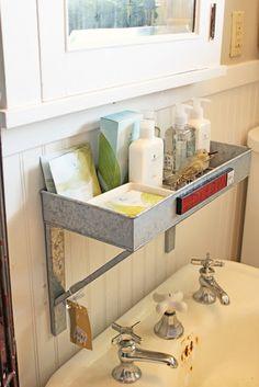bathroom storage for boys' bathroom