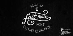Regular 1 – fait main / free font (.ttf) | Fresh Ideas - nurture your ideas!