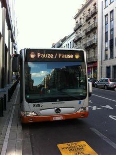 Brussels bus deserves a break