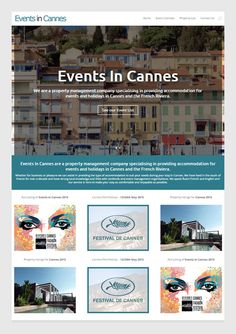 Events In Cannes Property management company specialising in providing accommodation for events and holidays in Cannes and the French Riviera.