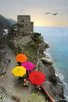 Focal point with gray backdrop - Cinque Terre, Liguria, Italy www.facebook.com/loveswish