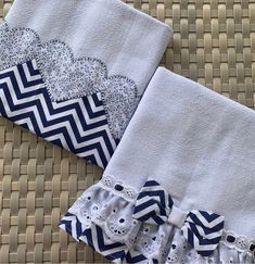 Napkin Folding, Hand Embroidery Designs, Sewing Techniques, Kitchen Towels, Burp Cloths, Baby Wearing, Pin Cushions, Tea Towels, Baby Kids