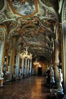 Palacio Galería Doria Pamphili. Roma Italia