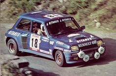 "Bruno Saby - ""Tilber"" 24th Tour de Corse 1980 (Renault R5 Turbo)"