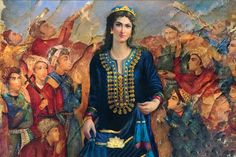 Turandokht was the beautiful Princess of Persia during the Sassanid dynasty era.