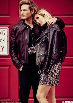 Ellie Goulding talks about Dougie Poynter romance in Glamour Magazine   Daily Mail Online