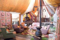 Perkin's tent, Harry Potter. this will be a room in my future home, I promise.