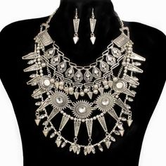 PWB0432 - Tribal bohemian necklace - $34.99 : Shop Trendy Jewelry and Accessories, Peeny Wallie Boutique