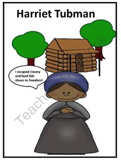 Harriet Tubman Biography and Fun Activities from FunTeach on TeachersNotebook.com -  (5 pages)  - Great Resource for Black History.