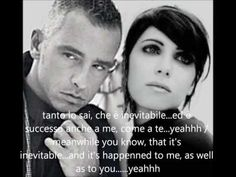 "famed Italian singers, Eros Ramazzotti & Giorgia sing the hit song, ""Inevitabile"". Hit Songs, Love Songs, Famous Poets, Look Magazine, Song Play, Wattpad, Johnny Cash, Once In A Lifetime, Party Entertainment"