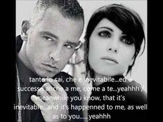 Italian Music - Eros Ramazzotti & Giorgia - Inevitabile (Inevitable) HQ+English Lyrics