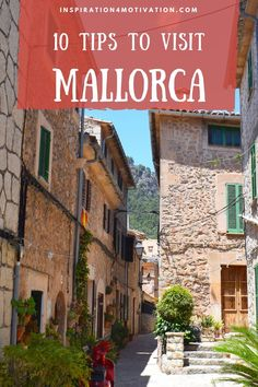 Here are my 10 tips to visit Mallorca and get the most out of this stunning, laid-back island! #mallorca #traveltomallorca #traveltips #inspiration4motivation Spain Travel, Travel Europe, Travel Advice, Travel Guides, Places To Travel, Travel Destinations, Wanderlust Travel, Spring Break, Wonders Of The World