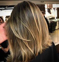 Balayage Honey Long Bob Eduardo