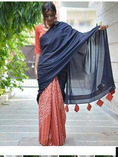 Sarees Saree Jacket Designs, Saree Kuchu Designs, Sari Blouse Designs, Fancy Blouse Designs, Saree Tassels, Drape Sarees, Saree Dress, Saree Blouse, Saris
