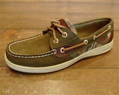 $85 #Sperry Topsider - Women's Bluefish 2-Eye  #camoBoat Shoe @bonnieandclydeonline.com