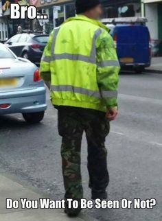 Wanna be seen or not
